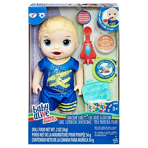 daaa5b8b8a Baby Alive Super Snacks Snackin  Luke   Target