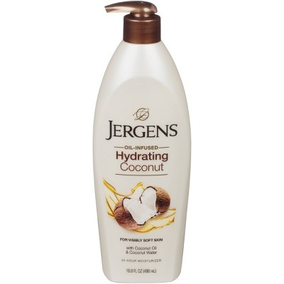 Body Lotions: Jergens Hydrating Coconut Moisturizer