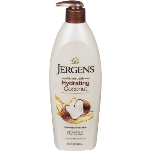 Jergens Coconut Moisturizing Lotion - 16.8 fl oz - image 1 of 4