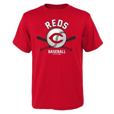 MLB Cincinnati Reds Boys' Core T-Shirt - L