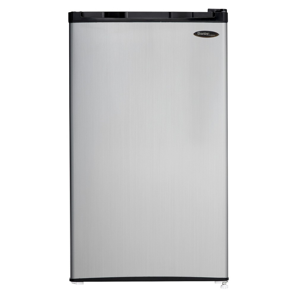 Danby 3.2 Cu.Ft. Mini Refrigerator - Stainless Steel DCR032C1BS, Gray