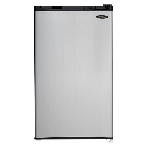 Danby 3.2 Cu.Ft. Mini Refrigerator - Stainless Steel DCR032C1BS - image 1 of 9