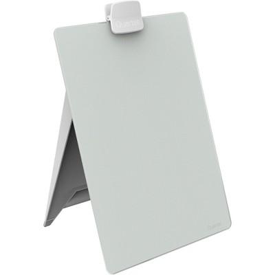 Quartet Glass Dry Erase Desktop Easel 11 x 9 White GDE119