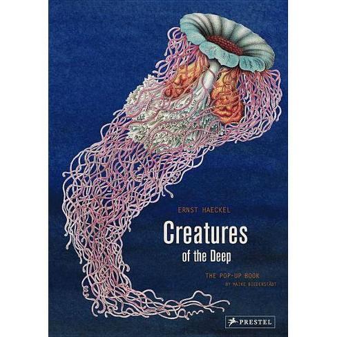 Creatures of the Deep - by  Ernst Haeckel & Maike Biederstaedt (Hardcover) - image 1 of 1