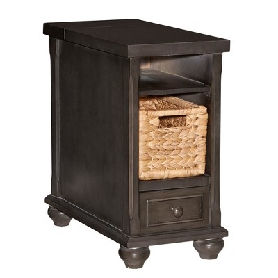Luca End Table Charcoal Grey - Powell Company