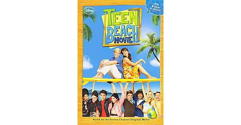 Teen Beach Movie (Paperback) by Sarah Nathan - image 1 of 1