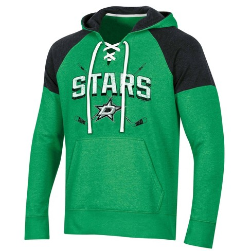 NHL Dallas Stars Men's Hat Trick Laced Hoodie - image 1 of 2