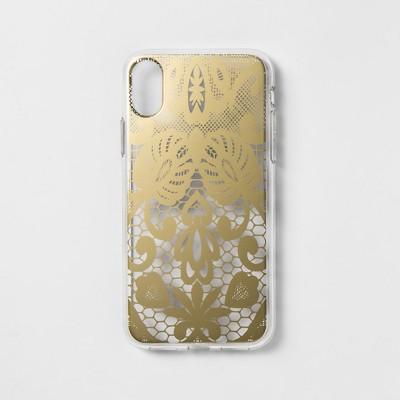 bf0c2b5b0d heyday™ Apple iPhone X/XS Case – Black Lace – BrickSeek