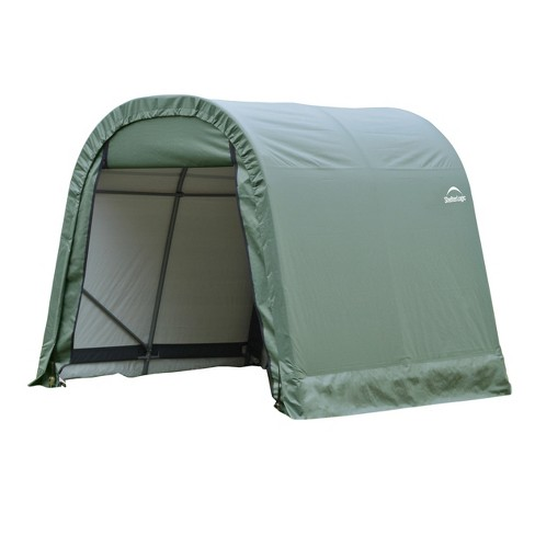 11' X 16' X 10' Round Style Shelter - Green - Shelterlogic - image 1 of 2