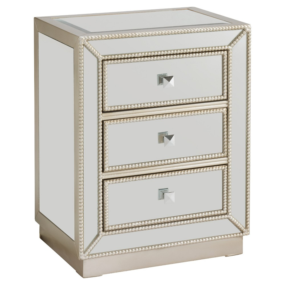 Elsinore Silver Chest - Silver - Christopher Knight Home