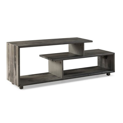"Rustic Modern Solid Wood TV Stand for TVs up to 50"" - Saracina Home"
