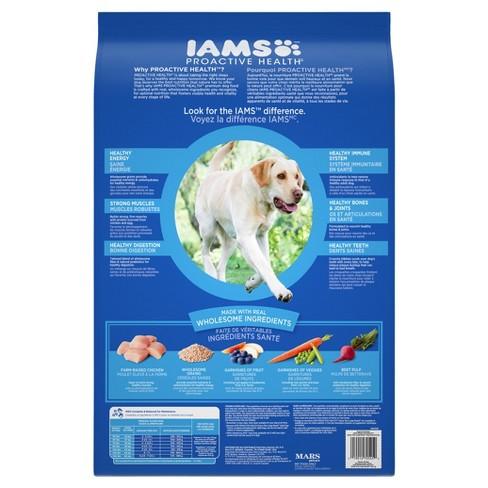 Iams Proactive Health Large Breed Senior Plus Dry Target