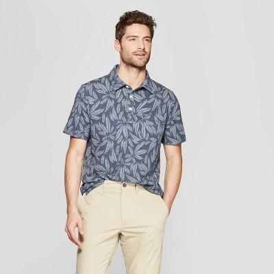 Men's Regular Fit Short Sleeve Jersey Polo Shirt   Goodfellow & Co by Goodfellow & Co