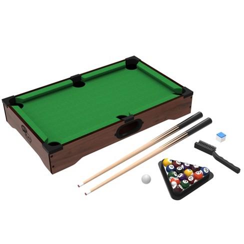 Mini Tabletop Pool Set Target - Minnesota fats mini pool table