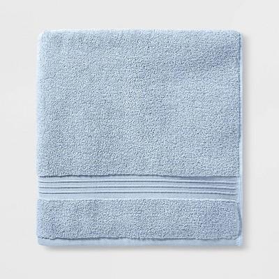 Spa Bath Sheet Light Blue - Threshold Signature™