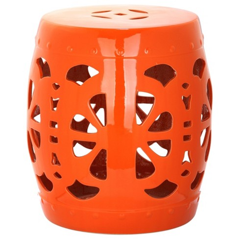 Bilboa Garden Stool - Safavieh® - image 1 of 2