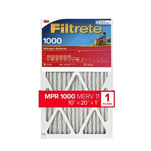Filtrete Allergen Defense Air Filter 1000 MPR - image 1 of 4
