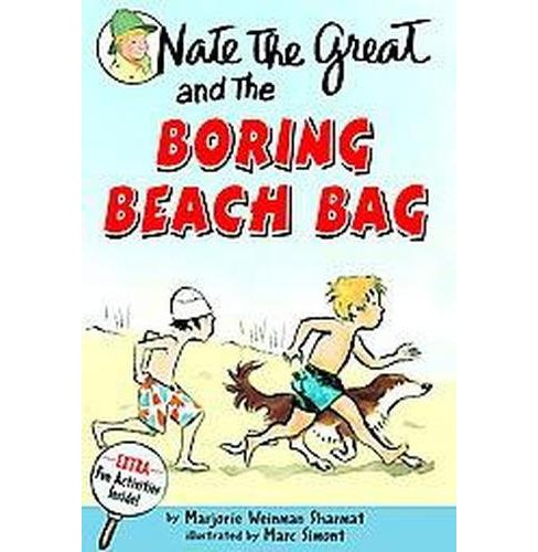 Nate the Great and the Boring Beach Bag (Reprint) (Paperback) (Marjorie Weinman Sharmat) - image 1 of 1