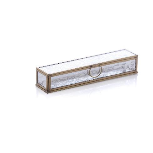 Mercure Long Box  - Gold - Shiraleah - image 1 of 1