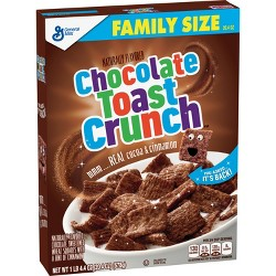 Cinnamon Toast Crunch Chocolate Breakfast Cereal - 20.4oz