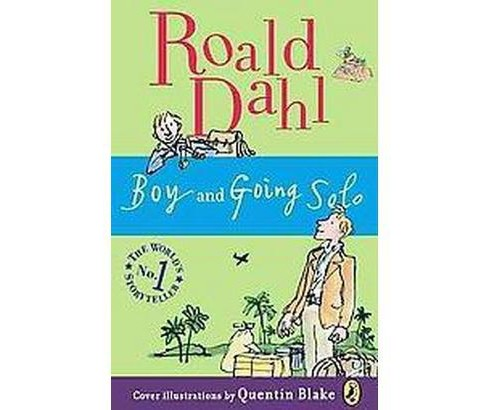 Boy and Going Solo : Tales of Childhood (Paperback) (Roald Dahl) - image 1 of 1