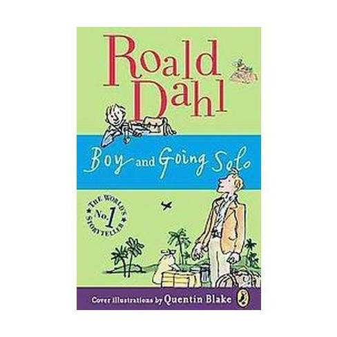 Boy And Going Solo Tales Of Childhood Paperback Roald Dahl