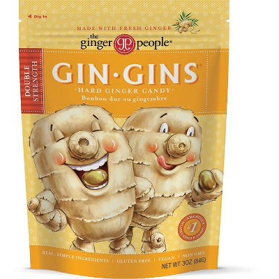 The Ginger People Gin - Gins Hard Candy - 3oz
