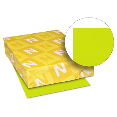 Neenah Paper Astrobrights Colored Paper 24lb 8-1/2 x 11 Terra Green 500 Sheets/Ream 22581