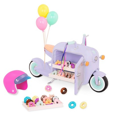 Glitter Girls Donut Delivery Scooter with Electronics