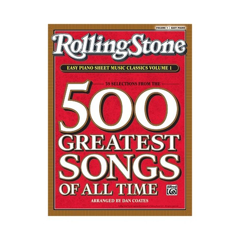 Alfred Rolling Stone Easy Piano Sheet Music Classics Volume 1 (Book) - image 1 of 1