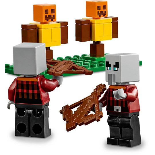 LEGO Minecraft The Pillager Outpost 21159 Awesome Action Figure Building Set image number null