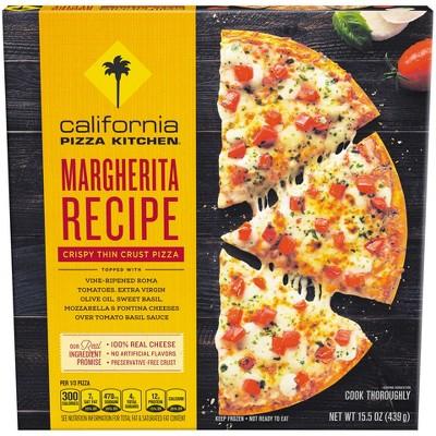 california pizza kitchen crispy thin crust margherita frozen pizza rh target com california pizza kitchen frozen margherita pizza nutrition california pizza kitchen margherita pizza price