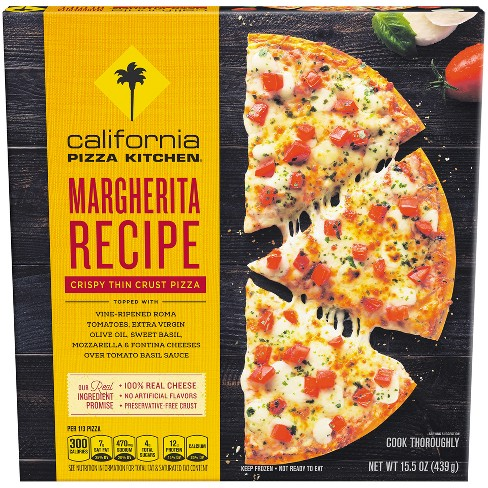 "California Pizza Kitchen® Crispy Thin Crust Margherita Frozen Pizza - 12"" - 15.5oz - image 1 of 3"