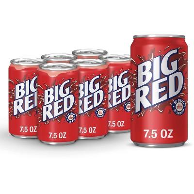 Big Red Soda - 6pk/7.5 fl oz Cans