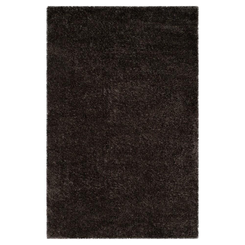 Indie Shag Rug - Dark Gray - (5'1