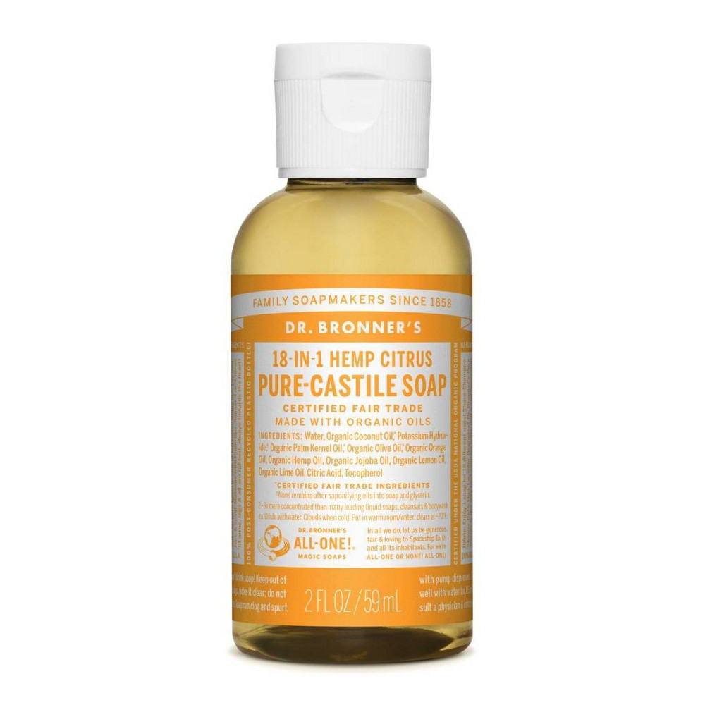 Image of Dr Bronners 18-in-1 Citrus Body Wash - 2 floz