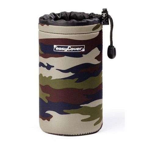 easyCover 10x18cm (3.93x7.08 ) Soft Neoprene Lens Pouch, Large, Camouflage - image 1 of 1