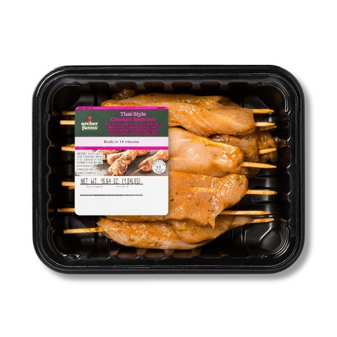 Thai-Style Chicken Skewer - 16oz - Archer Farms™ - image 1 of 1