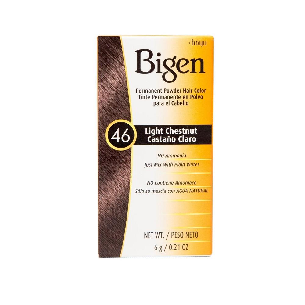 Image of Bigen Permanent Powder Hair Color - 46 Light Chestnut - 0.21oz