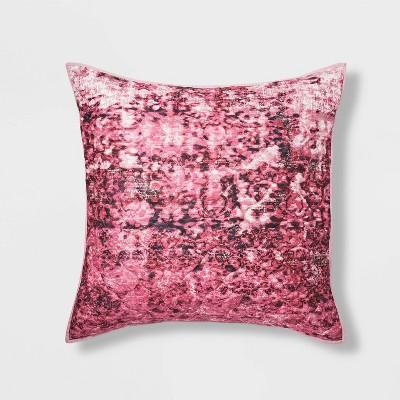 Vintage Rug Textured Velvet Quilt Sham - Opalhouse™