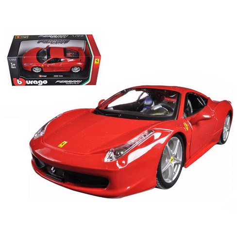 Ferrari 458 Italia Red 1 24 Diecast Model Car By Bburago Target