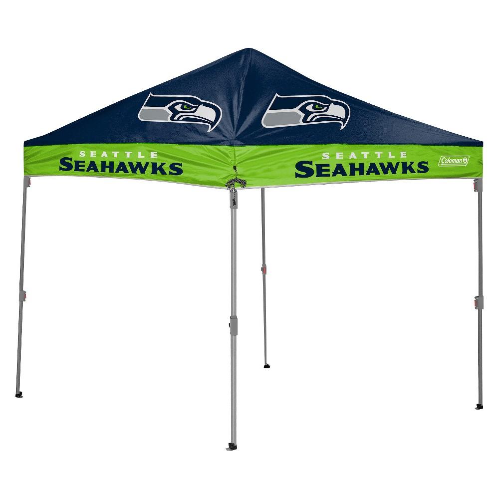 Coleman NFL Seattle Seahawks 10'x10' Straight Leg Canopy Tent