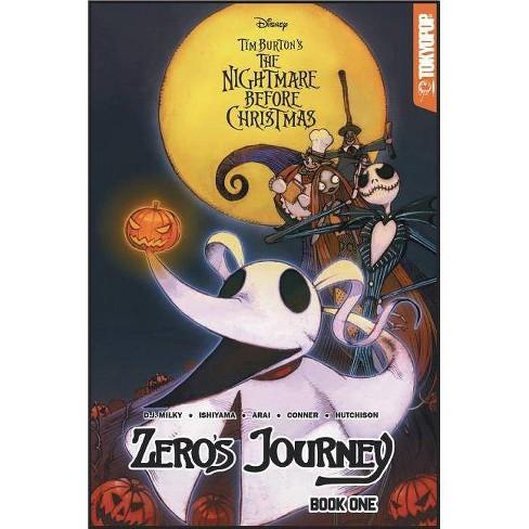 Disney Manga: Tim Burton's the Nightmare Before Christmas - Zero's Journey - by  D J Milky (Paperback) - image 1 of 1