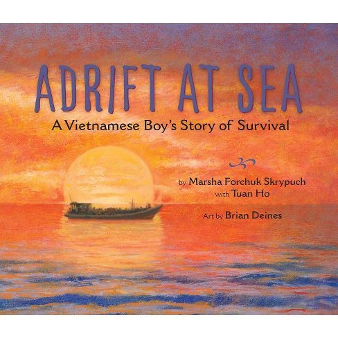 Adrift at Sea - by  Marsha Forchuk Skrypuch (Hardcover) - image 1 of 1