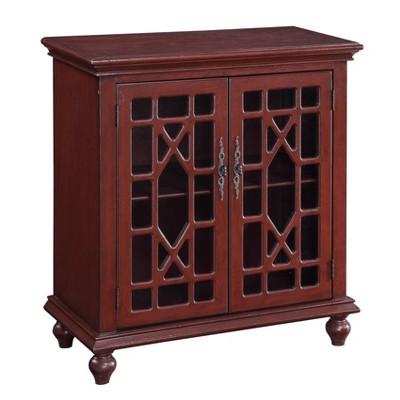 Chippendale 2 Door Cabinet - Treasure Trove Accents