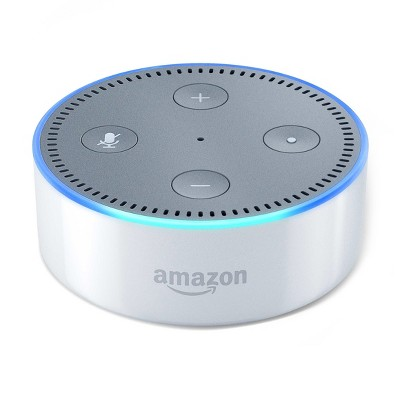 Amazon Echo Dot (2nd Generation)Alexa-enabled Bluetooth Speaker - White