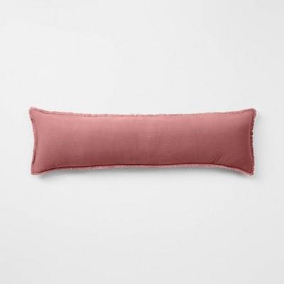 Lumbar Heavyweight Linen Blend Throw Pillow - Casaluna™