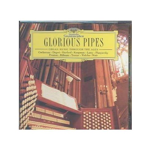 Bach - Glorious Pipes: Organ Music Through The Ages (CD) - image 1 of 1