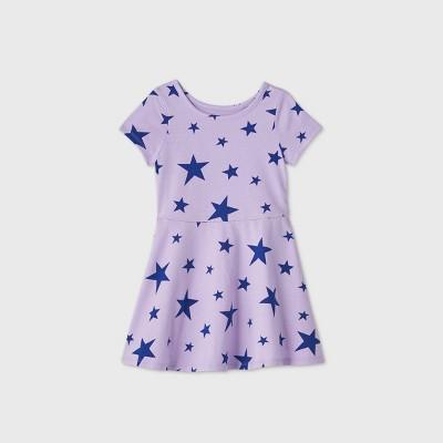 Toddler Girls' Knit Short Sleeve Dress - Cat & Jack™