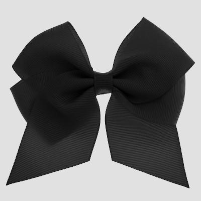 c84d340f8473 Girls' Bow Metal Snap Clip - Cat & Jack™ Black